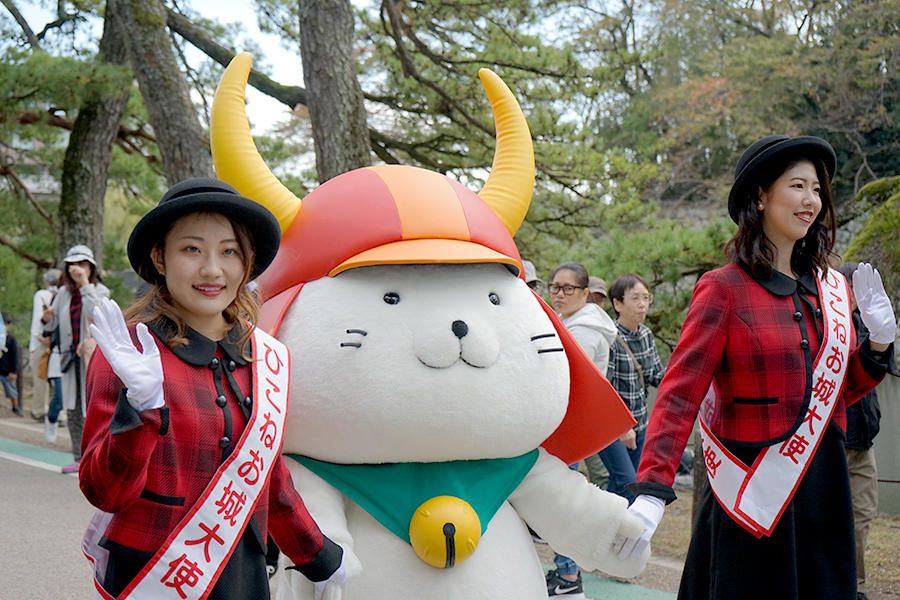 11月3日開催「第66会ひこねの城まつりパレード」の模様