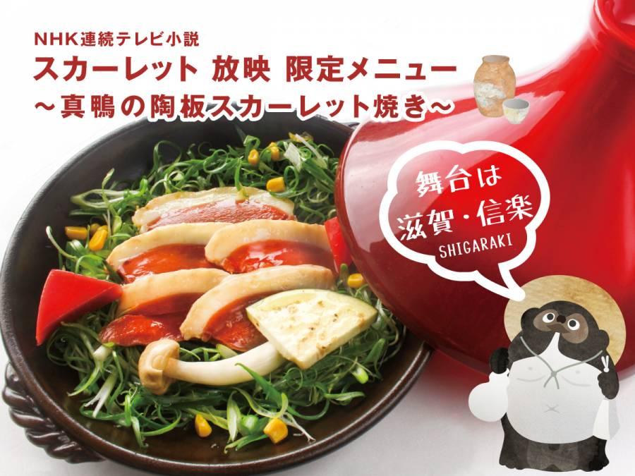 NHK連続テレビ小説「スカーレット」舞台は滋賀・信楽 ー鴨の陶板