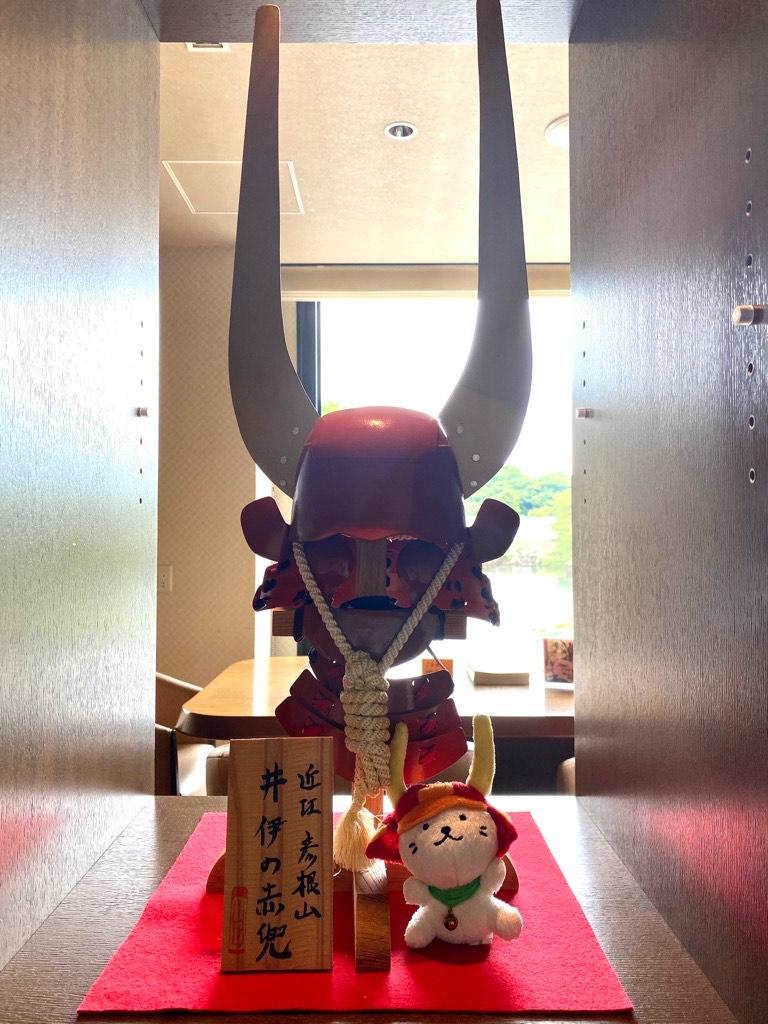 | 彦根お天気ブログ | 井伊家の赤兜をご覧あれ!
