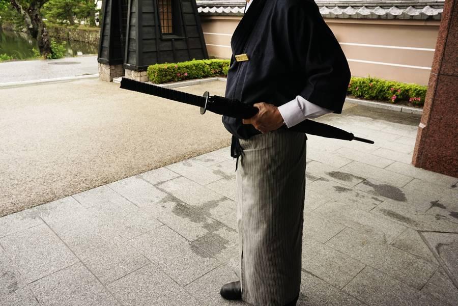 彦根みやげ本陣 刀型傘 ¥1800