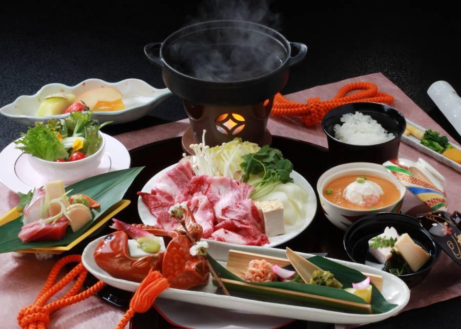 認定「近江牛」のすき焼き