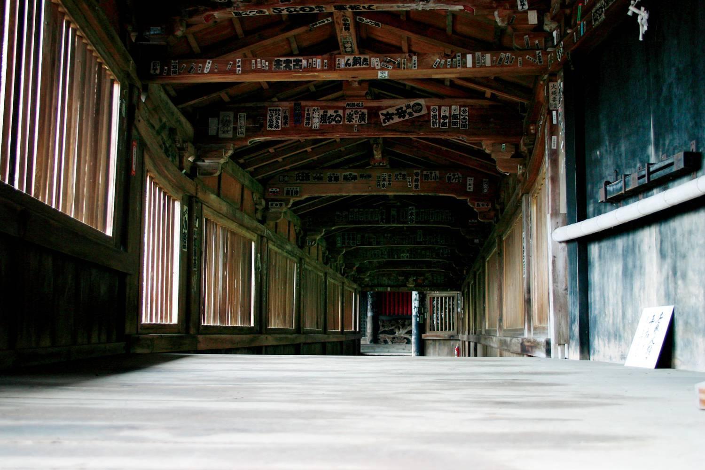 竹生島宝厳寺舟廊下(長浜・米原を楽しむ観光情報サイトより)