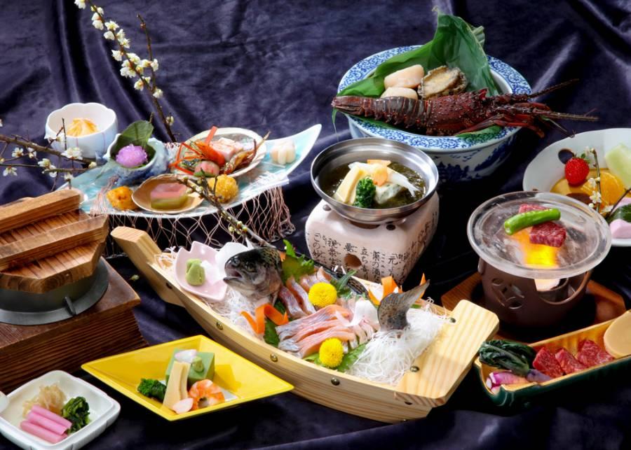|びわ桜鱒フェア| 桜会席 〜びわ桜鱒姿造り付き〜