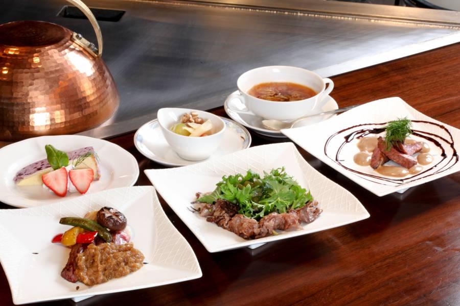 近江牛食べ比べランチ