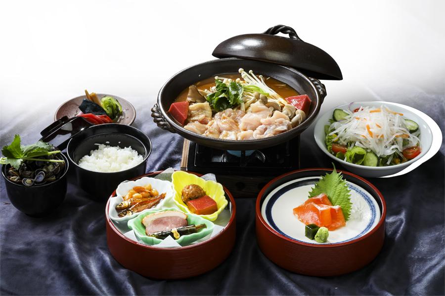 近江鶏と木野子の味噌柳川鍋御膳 イメージ写真