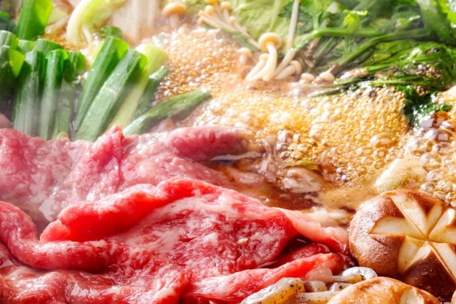 近江牛すき焼きコース 水無月 イメージ